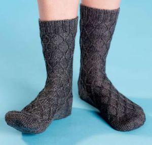 Purling Sprite Loom Knitting Socks Sneak Peek