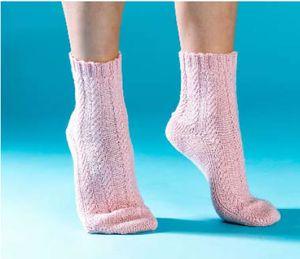 Purling Sprite Loom Knitting Socks Book Winner