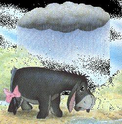 Eeyore&rain