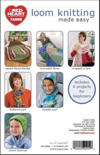 Loom Knitting Back
