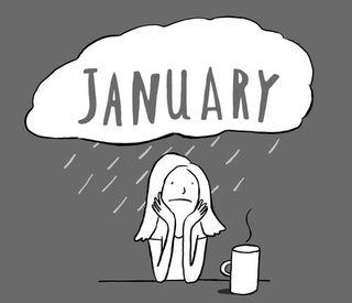 January blahs